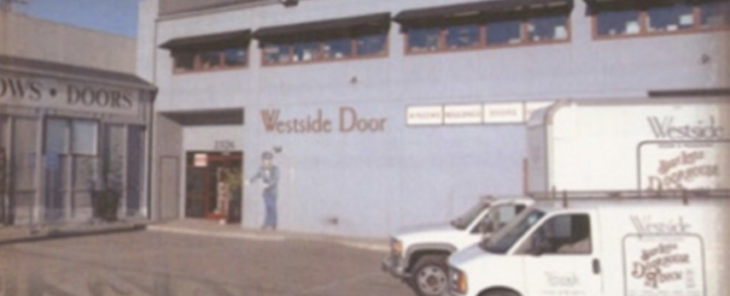 Westside Door - Exterior Photo of our West Los Angeles Showroom - Luxury Home Window and Door Company